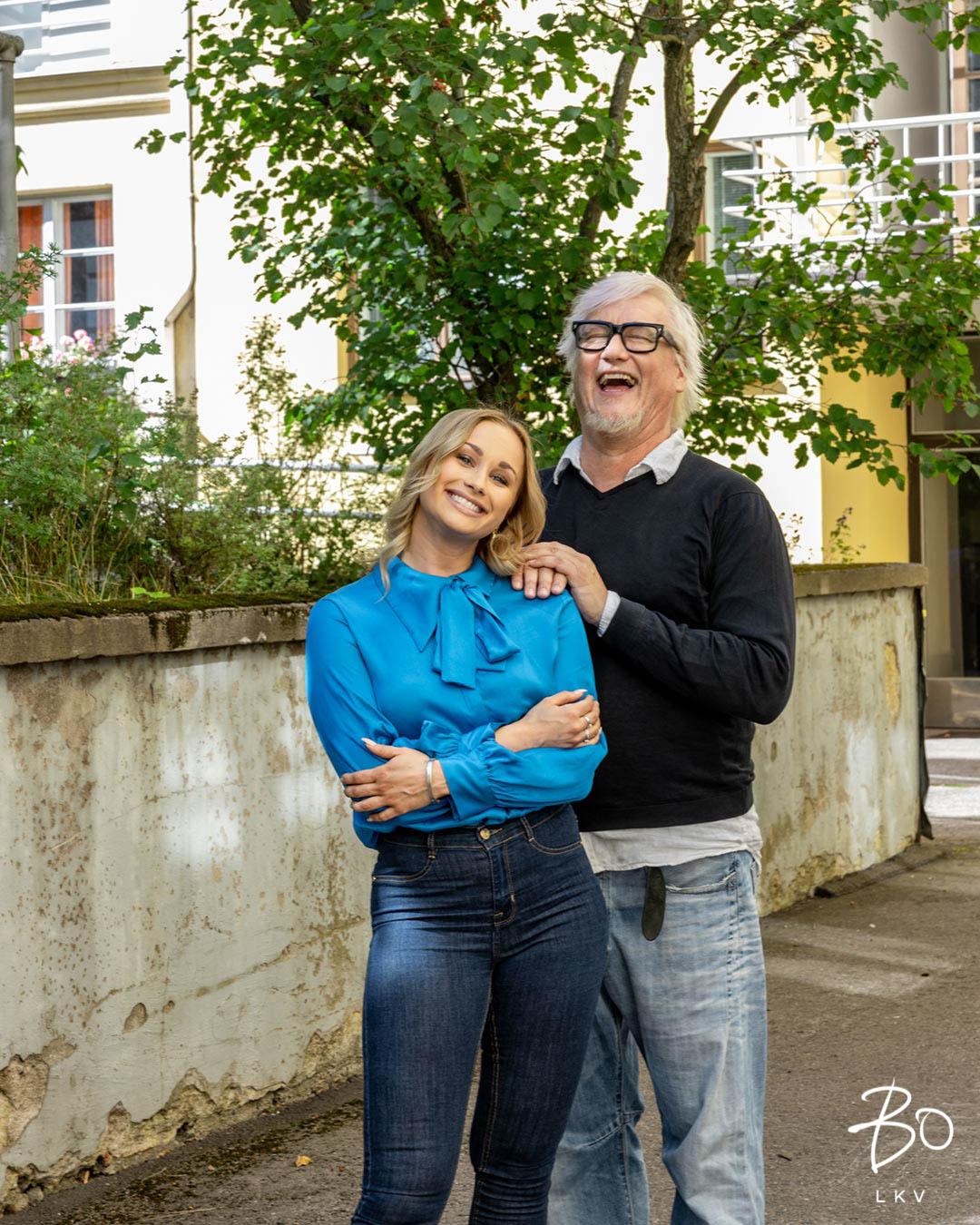 Anne Ramsay ja Marko Paananen